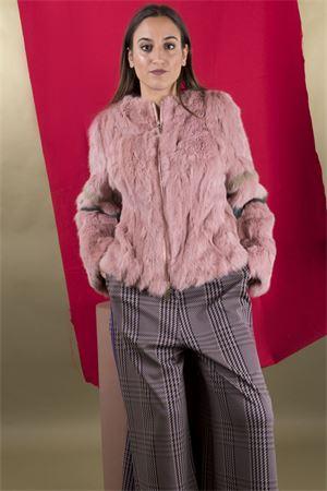 Pelliccia in lapein con zip CRISTINAEFFE CristinaEffe Milano | 41 | PELLICCIA MASCOTTE001481