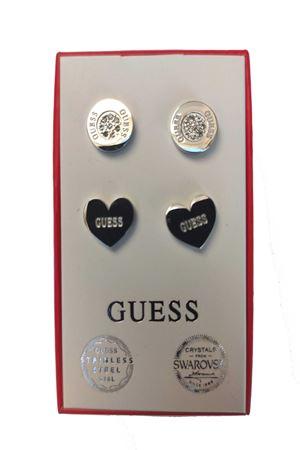 Set orecchini punto luce bottoncino/cuore Guess Guess | 5032236 | JUBS2940101