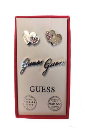 Set orecchini doppio cuore logo guess Guess | 5032236 | JUBS2940901