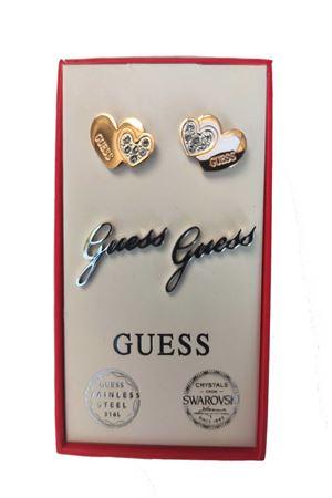 Set orecchini doppio cuore logo guess Guess | 5032236 | JUBS2941001