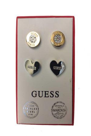 Set orecchini punto luce bottoncino/cuore Guess Guess | 5032236 | JUBS2941301