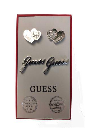 Set orecchini doppio cuore logo guess Guess | 5032236 | JUBS2942101