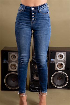 Jeans 5 tasche bottoni a vista GUESS Guess | 24 | W93A28D3N51TABI