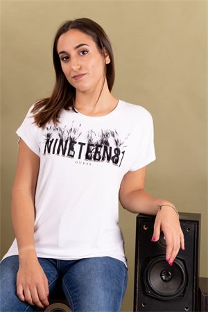 T-shirt 1981 con piume GUESS Guess | 8 | W93I74K68D0TWTH
