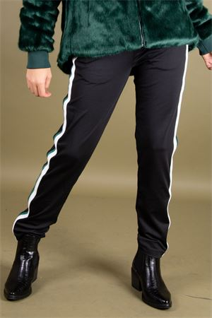 Pantalone in acetato con bande GUESS Guess | 9 | W94B79RJQ30JBLK