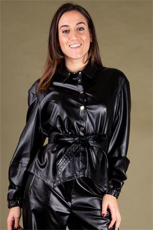 Camicia cinturata in ecopelle NAM-MYO Nam-Myo | 6 | CAMICIA FREEDA00002