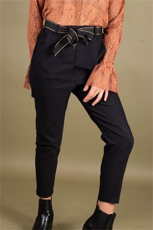 Pantalone in tessuto stretch gessato SUSYMIX Susy Mix   9   DW3101