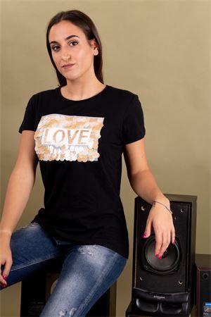 T-shirt LOVE paillettes SUSYMIX Susy Mix | 8 | LTN480501