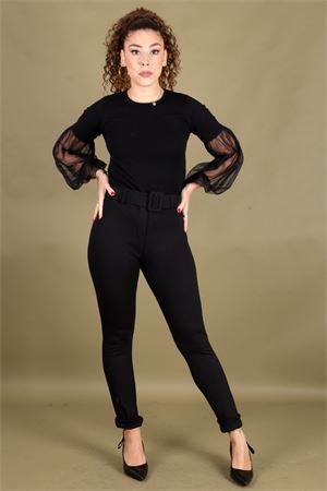 Pantalone in punto milano con cintura SUSYMIX Susy Mix | 9 | P307910001