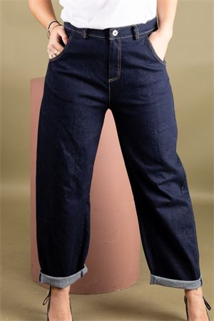 Jeans baggy in denim scuro SUSYMIX Susy Mix | 9 | PA963301