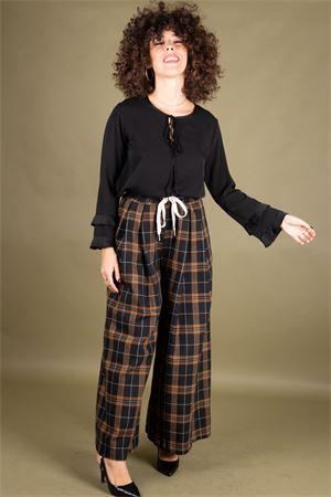 Pantalone a palazzo quadri SUSYMIX Susy Mix | 9 | SM00101