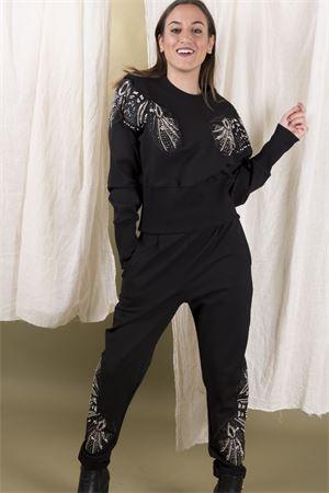 Pantalone felpa gioiello TRASH AND LUXURY Trash and Luxury | 9 | TL05FW1920308101