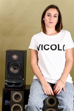 T-shirt logo glitter VICOLO Vicolo | 8 | RM014501