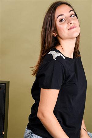 T-shirt spalline in strass VICOLO Vicolo | 8 | RM019302