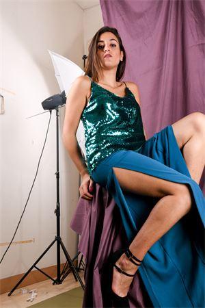 Pantalone gamba larga con spacco VICOLO Vicolo | 9 | TM014002
