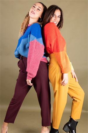 Pantalone vita alta con pence stretch VICOLO Vicolo | 9 | TM176404