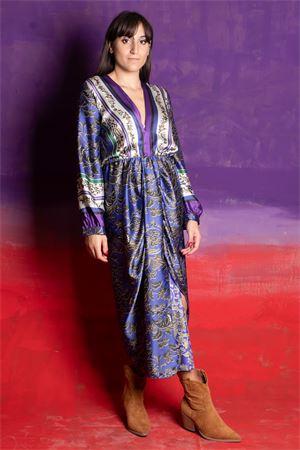 Dixie  Maxi abito drappeggio fantasia Dixie   11   AFPTOGA01