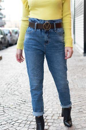 Susymix Jeans vita alta a caramella Susy Mix | 24 | 7160JI01