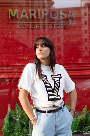 T-shirt stampa  V zebra Vicolo Vicolo | 8 | RW009401