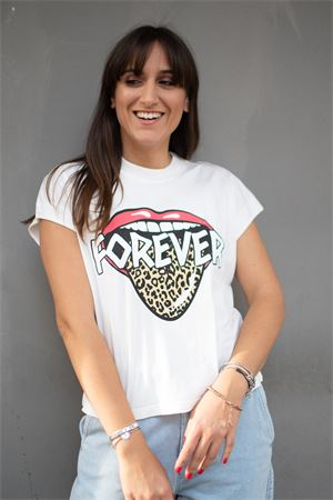T-shirt crop stampa rolling forever vicolo Vicolo | 8 | RW009901