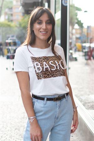 T-Shirt basic placca animalier Vicolo Vicolo | 8 | RW013202