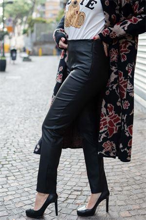 vicolo pantalone tessuto stretch effetto ecopelle Vicolo | 9 | TW155401