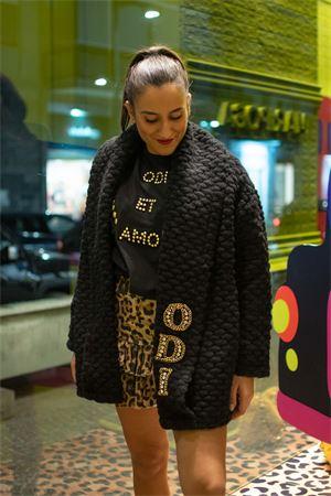 Odi et Amo Cappotto in maglia con patch Odi et Amo | 18 | A172U101