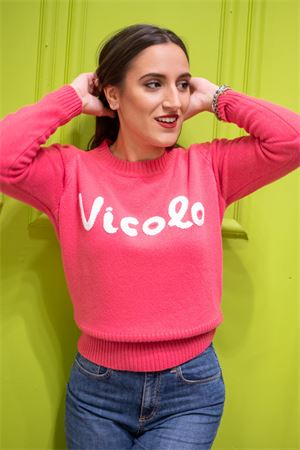 Vicolo pull logo ricamato Vicolo | 7 | 7093X10