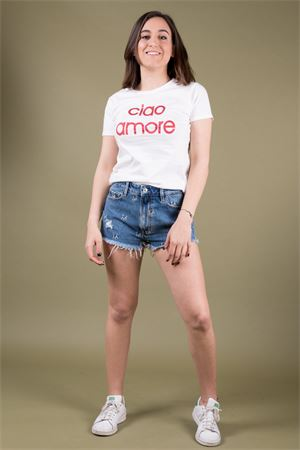 AIEM ciao amore print cotton T-shirt AIEM | 8 | CIAO AMORE01