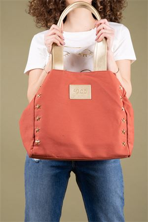 Shopper bag in canvas with stars GOOD MOOD Good Mood | 31 | CANVAS SHOP02