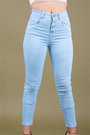 Pantalone 5 tasche vita alta bottoni GUESS Guess | 9 | W91A28WB7T0PJ61