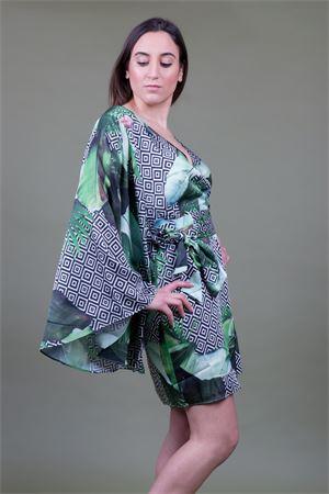 Abito kimono fantasia tropical GUESS Guess   11   W92K94WBKP0PI78