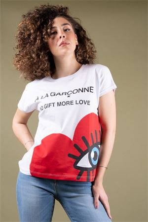 T-Shirt grafica cuore con occhio NO GIFT MORE LOVE NO Gift More Love | 8 | WTS04301