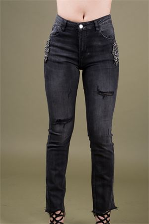 Jewel applications jeans TRASH AND LUXURY Trash and Luxury | 24 | TL 06SS19224301