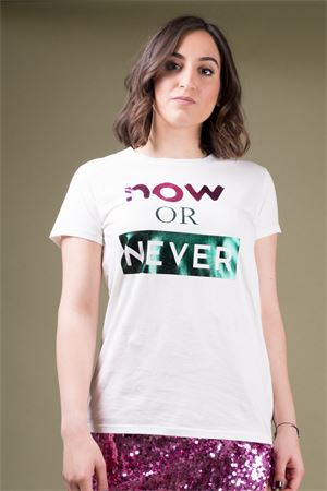 alt=' T-shirt with metallic print VICOLO Vicolo | 8 | RU048801' title=' T-shirt with metallic print VICOLO Vicolo | 8 | RU048801'