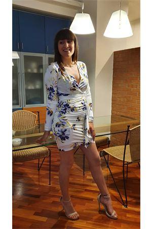 Abito drappeggio stampa bouquet Guess Guess Jennifer Lopez | 11 | W0GK65K4JZ0P06K