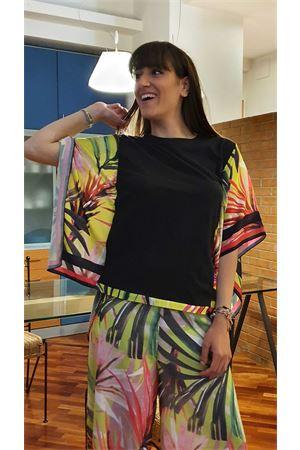 Maglia foulard stampa tropical guess Guess | 7 | W0GI32JA900JBLK