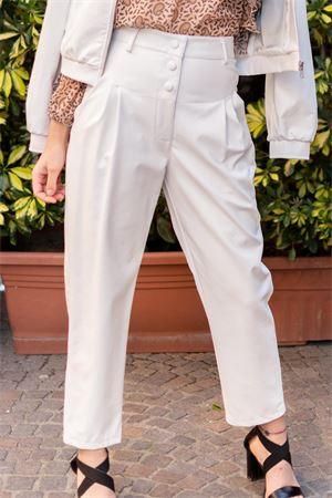 pantalone vita alta effetto pelle vicolo Vicolo | 9 | TK001201