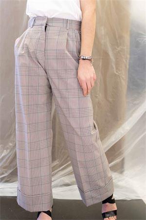 pantalone gamba larga stampa galles vicolo Vicolo | 9 | TK013401