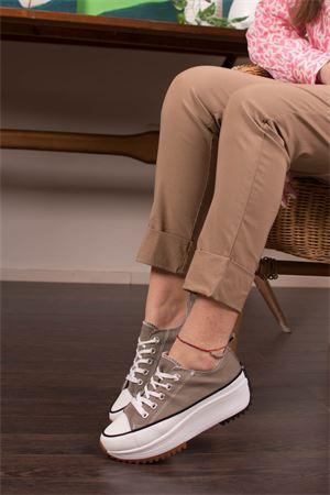 Sneakers bassa in canvas fondo runner NO NAME | 12 | VL137P02