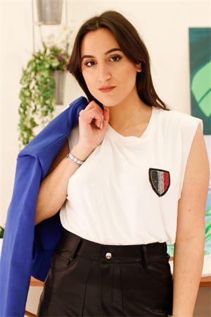 odi et amo T-shirt smanicata tricolore Odi et Amo | 7 | 015T101