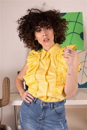 susymix camicia con rouches smanicata Susy Mix | 6 | AC935T601