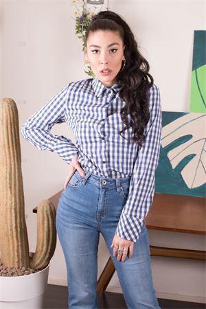 susymix camicia vichy Susy Mix | 6 | KA220204