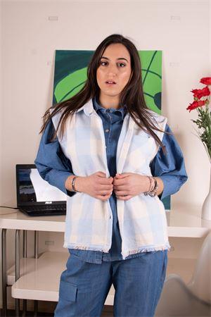 susymix gilet camicia check Susy Mix | 38 | LU4321301