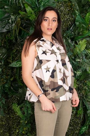 Susymix camicia star camouflage Susy Mix | 6 | MGC4426E7501