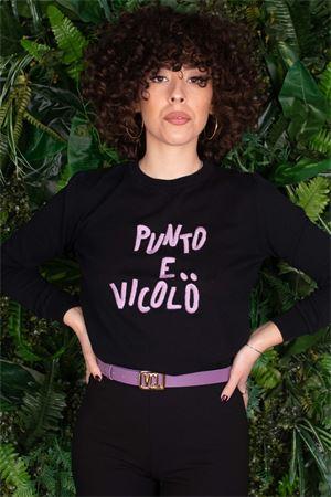 Vicolo pull con logo ricamato e scritta Vicolo | 7 | 2118H03
