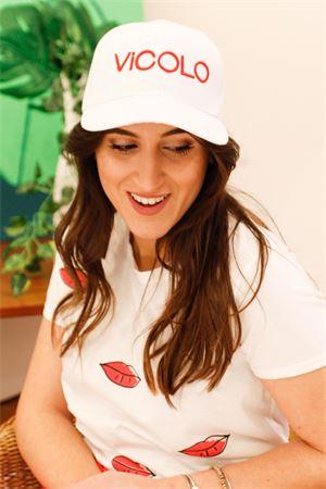 vicolo cappello baseball con logo esteso Vicolo | 20000086 | AH005901