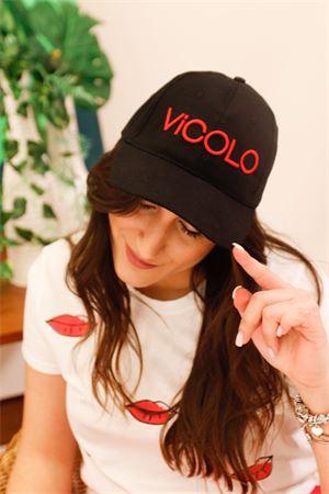 vicolo cappello baseball con logo esteso Vicolo | 20000086 | AH005902