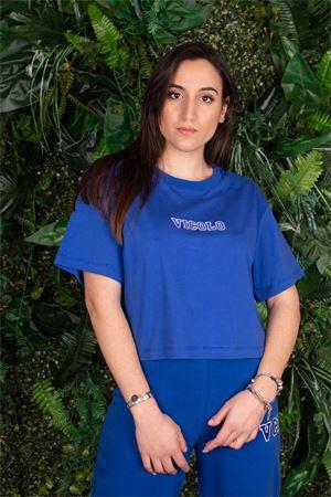 vicolo t-shirt cropped logo esteso ricamato Vicolo | 8 | RH000701