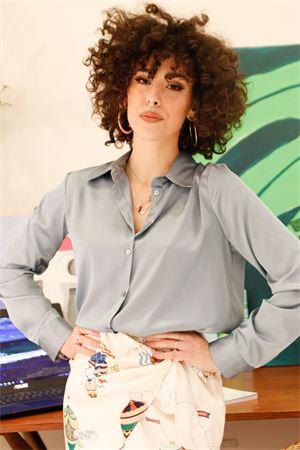 Vicolo camicia collo classico in raso Vicolo   6   TH016501